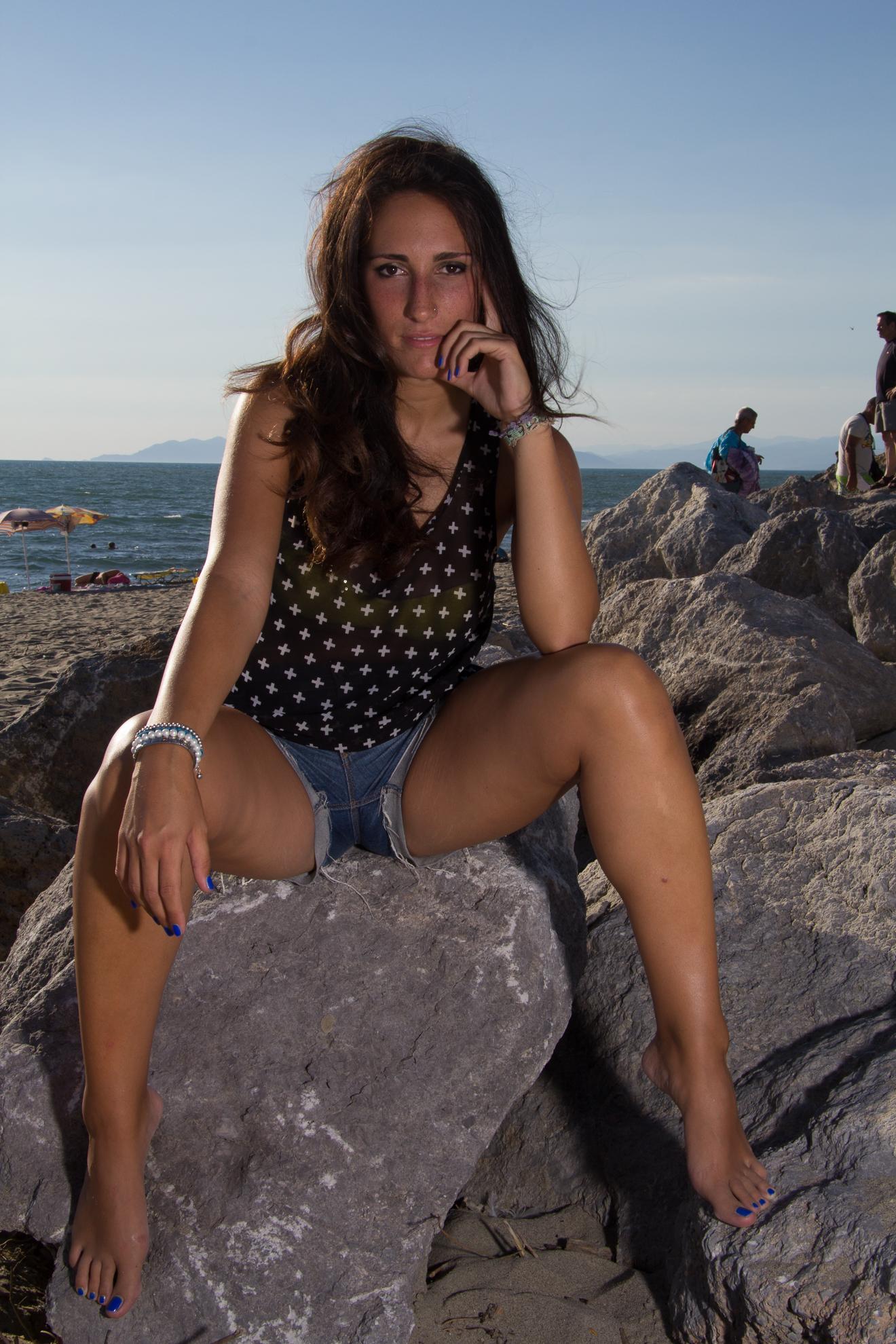 Sara in Spiaggia
